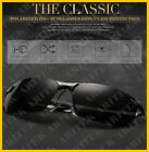 Polarized HD+ Night Vision Glasses Driving Aviator Sunglasses UV400 Protection