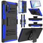 For Samsung Galaxy Note 9/Note 10 Plus Case Shockproof Hybrid Clip Holster Cover