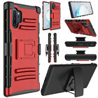 For Samsung Galaxy Note 10/Note10 Plus Phone Case Belt Clip Cover With Kickstand