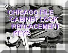 Внешний вид - CHICAGO LOCK / CHICAGO FILE CABINET LOCK KEYS FOR: CHICAGO AND COMPX® LOCKS