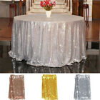 Sequin Tablecloth Glitter Wedding Party Banquet Table Linens Cover Decoration
