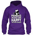 Do You Love Pandas - Make Me Happy You, Not So Much Gildan Hoodie Sweatshirt