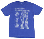 """Buy """"Transformers Mens T-Shirt - Optimus Prime Stand Tall Next to Character Circles"""" on EBAY"""