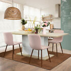 4-8 Seaters Extending Dining Table Modern Kitchen Wooden Table White/Beech