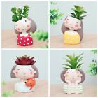 Head Flower Planter Flowerpot Succulent Plant Creat Design Animal Home Garden