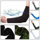 US 1Pair Cooling Arm Sleeves Cover UV Sun Protection Golf Fishing Cycling Cover