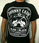 JOHNNY CASH ROCK T SHIRT MEN'S SIZES image
