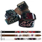 Ed Hardy EH3204 Love Kills Slowly Kids-Girls Leather Belt