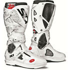 Sidi NEW Mx Crossfire 3 SRS White Motocross Dirt Bike Enduro Euro Boots