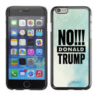 Hard Phone Case Cover Skin For Apple iPhone 144 BAN Donald Trump blue white