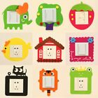 Funny Light Switch Sticker Shock Resistant Wall Decals for B
