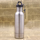 Personal Camping Beer Bottle Cooler Keeper Holder Travel Thermos Stainless Steel