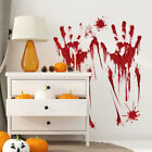 Bloody Blood Hand Print Sticker Halloween Creepy Window Car Glass Decals Décor