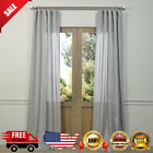 Exclusive Fabrics Signature French Linen Curtain Panel Unlined Curtain Diffuses