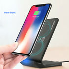 FLOVEME Qi Fast Wireless Charger For iPhone X/XS Plus 8+ Samsung Galaxy Note9 S9