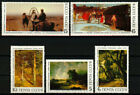 Russia USSR 1986, Sc# 5466-5470 MNH, old Rusian art, complete series