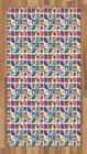 Fresh Produce Area Rug Flat Woven Accent Rug Home Decoration 2 Sizes
