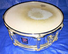 "Premier Snare Drum Kit Snare Made in England 6"" x 14"" Chrome Remo Skin"