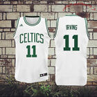 Boston Celtics 11 Kyrie Irving Basketball Jersey Movie Stitched, White Green M on eBay
