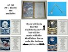 (See all 32 Teams) Personalized NFL Decorated Book for that Special Godfather $13.0 USD on eBay
