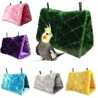 Pet Bird Parrot Plush Hammock Cage Snuggle Hut Tent Bed Nest Toy Hanging Cave US