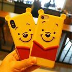 Sprint Silicone Case 3D Cartoon Winnie the Pooh Cover For iPhone 6s 7 8 Plus X