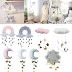 Nursery Style Moon Cloud And Star Baby Bed Mobile Hanging Room Decor Accessory