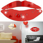 Modern Sexy Large Lips Mirror Wall Sticker Decal Art Home Room Removable Decor