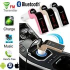 Handsfree G7 Bluetooth For Car Kit USB Charger FM Transmitter Radio MP3 Player