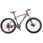 "26""14 Speed EUROBIKE Mountain Bike Double Brake Mens Aluminium Alloy Bicycle"