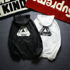 New Triangle Palace Skate Windbreaker Jackets Street Tide Thin Baseball Jacket