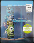 * BRAND NEW * DISNEY PIXAR MONSTER, INC. BLU-RAY STEELBOOK REGION FREE OOP