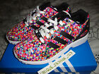 ADIDAS ZX FLUX MULTI PRISM UK 4 5 6 7 8 9 10 11 12 13 FLORAL CAMO LIGHTNING SNS