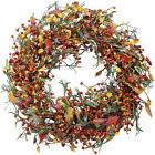 Appalachia Berry Silk Fall Door Wreath/2 Pack Adjustable ...