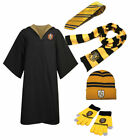 Harry Potter Robe Cloak  Scarf Hat  Gloves  Tie Socks Wand Costume Cos Halloween