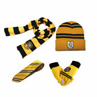 Harry Potter Robe Cloak +Scarf+Hat +Gloves +Tie Socks Wand Costume Cos Halloween <br/> Ship From NY&radic;High Quality&radic;All Sizes for Kids&amp;Adults&radic;