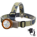 Powerful LED Headlight  Headlamp flashlight head Lamp Torch Hunting camping set