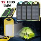 US 300000mAh Solar Power Bank USB LED Extrinsic Battery Charger For Cell Phone