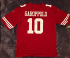 10 Jimmy Garoppolo San Francisco 49ers Mens Stitched Red Jersey NWT