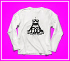 Fall Out Boy Shirt tour concert tee tops bet seller Unisex long sleeve SML music