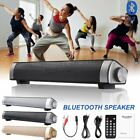 Surround Sound Bar Speaker System Wireless  Bluetooth4.2 Subwoofer w/ Remoter US