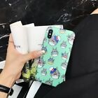 For iPhone X XS Max Xr 8 7 6S Japanese Cute Cartoon Totoro Phone Case Soft Skin