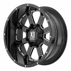 XD Series 22x10 XD825 Buck 25 Wheel Gloss Black Milled 8x6.5 8x165.1 -18mm 4.79""