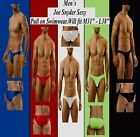 "Men`s Joe Snyder Sexy Pull on Swimwear Pos Gay Int.Will fit M31"" - L36"" 5Col VHT"