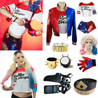 Halloween Costume Suicide Squad Harley Quinn Cosplay Tops Sh