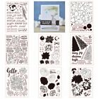 Creative Themes Stamps Seal Rubber Stencil Scrapbooking Album Embossing Crafts