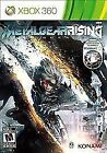 METAL GEAR RISING: REVENGEANCE Microsoft XBox 360 Game