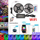 WIFI Controller 5-10M Set SMD 5050 RGB RGBW RGBWW LED Strip Smart APP+EU/US Plug
