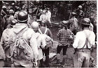 1970s Climbers, tourists, mountaines real vintage photo