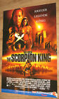 The Rock The Scorpion King Poster 84x56cm